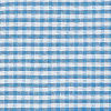 Blue Med Gingham