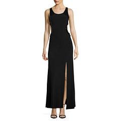 My Michelle Sleeveless Sequin Evening Gown-Juniors