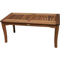 Outdoor Interiors Brazilian Eucalyptus Coffee Table