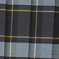 Blue Gold Plaid
