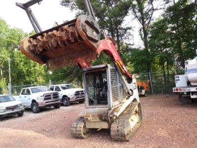 2014 Takeuchi TL12 Crawler Skid Steer Loader/Forestry