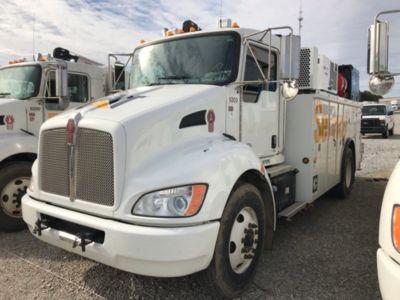 2015 Kenworth T370 Mechanics Utility Truck (163163) | J J  Kane