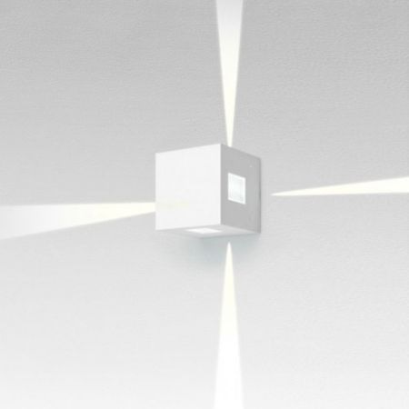 Artemide effetto square outdoor led wall light ylighting aloadofball Image collections