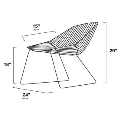 Awesome Bend Goods Bunny Lounge Chair Yliving Com Creativecarmelina Interior Chair Design Creativecarmelinacom