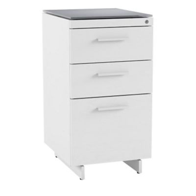 BDI Centro 3 Drawer File Cabinet 6414 | YLiving.com