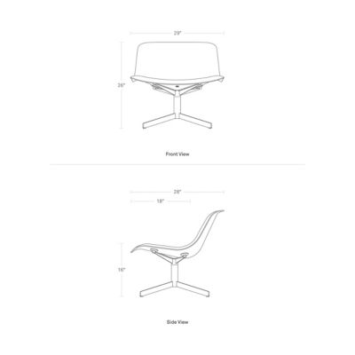 Awesome Blu Dot Nonesuch Swivel Lounge Chair Yliving Com Creativecarmelina Interior Chair Design Creativecarmelinacom