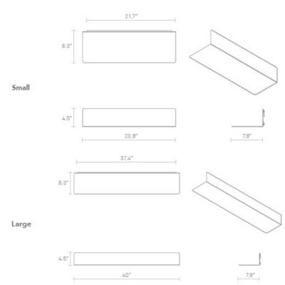 Blu dot welf wall shelf yliving welf wall shelf diagram ccuart Images