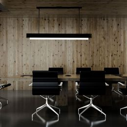 T Light Led Linear Suspension By Boyd Lighting At Lumens