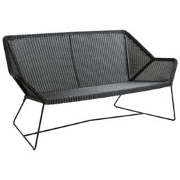 Stupendous Breeze 2 Seater Outdoor Sofa By Cane Line At Lumens Com Machost Co Dining Chair Design Ideas Machostcouk