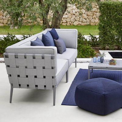 High Quality Cane Line Conic 2 Seater Sofa Sectional | YLiving.com