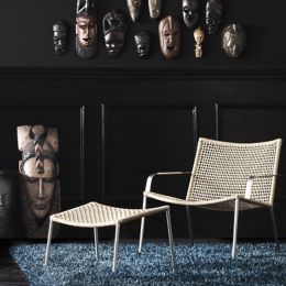 Phenomenal Straw Round Weave Footstool By Cane Line At Lumens Com Gamerscity Chair Design For Home Gamerscityorg