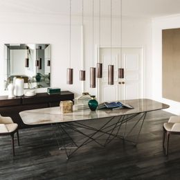 Cattelan Italia Gordon Keramik Dining Tableand Oval Ylivingcom - Stylish-dining-rooms-from-cattelan-italia