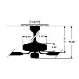 craftmade fans echelon ceiling fan | ylighting.com  ylighting