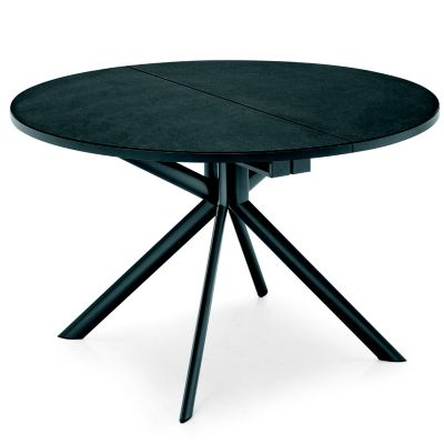 Connubia Giove Round Extending Dining Table | YLiving.com