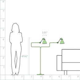 Dcw Editions La Lampe Gras No 411 Floor Lamp Ylighting Com