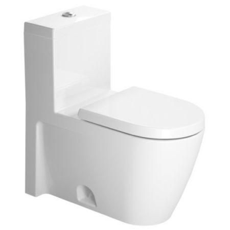 Duravit Starck 2 One-Piece Elongated Toilet   YLiving.com