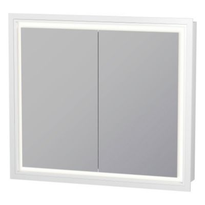 sc 1 st  YLiving & Duravit L-Cube Mirror Cabinet With Lighting | YLiving.com