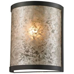 Mica Round Wall Sconce