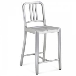 Incredible Navy Stool By Emeco At Lumens Com Caraccident5 Cool Chair Designs And Ideas Caraccident5Info
