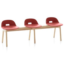 Pleasing Alfi 3 Seat Benchand Low Back By Emeco At Lumens Com Gmtry Best Dining Table And Chair Ideas Images Gmtryco