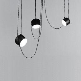 Flos Aim Led Multi Light Pendant Ylighting