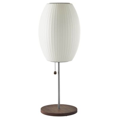 Nelson Bubble Lamps Nelson Cigar Lotus Table Lamp Ylighting Com