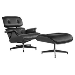 Peachy Herman Miller Eames Lounge Chair With Ottomanand Ebony Machost Co Dining Chair Design Ideas Machostcouk