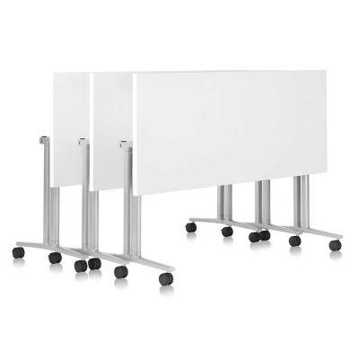 Herman Miller Everywhere Table Rectangular Flip Top | YLiving.com