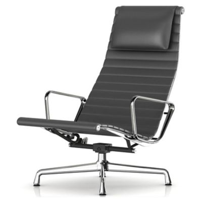 Herman Miller Eames Aluminum Group Lounge Chair | YLiving.com