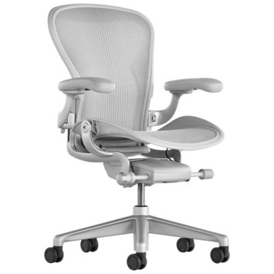 Herman Miller Aeron Office Chair   Size Cand Mineral | YLiving.com