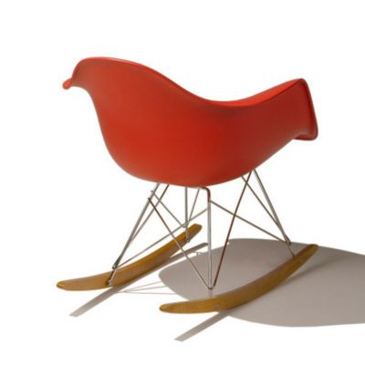 Herman Miller Eames Molded Plastic Rocker Chair | YLiving.com