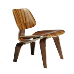 Tremendous Herman Miller Eames Molded Plywood Lounge Chair With Wood Ibusinesslaw Wood Chair Design Ideas Ibusinesslaworg