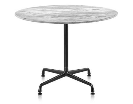 Eames Round Dining Tables With Universal Base Outdoor