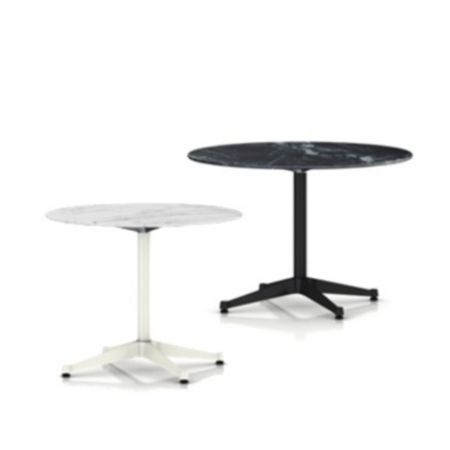 Eames Round Dining Tables With Contract Base Outdoor