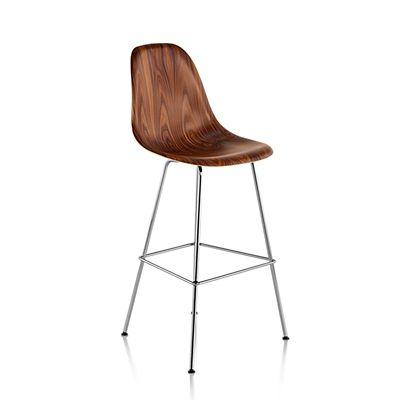Herman Miller Eames Molded Wood Stool | YLiving.com