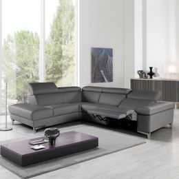 Giuseppe And Megan Sectional Sofa With Electric Recliner Yliving