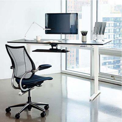 Humanscale Float Height Adjustable Desk | YLiving.com