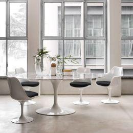 Knoll Saarinen Inch Oval Dining Table YLivingcom - Saarinen oval dining table 96