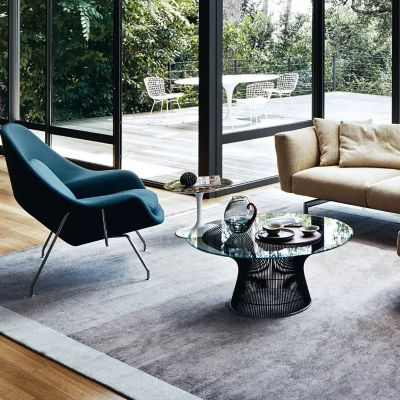 Planter Coffee Table / Saarinen Womb Chair And Saarinen Round Dining Table