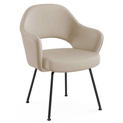 Knoll Saarinen Executive Armchair With Tubular Leg | YLiving.com