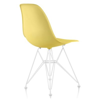 Herman Miller Eames Molded Plastic Side Chair   Wire Base | YLighting.com