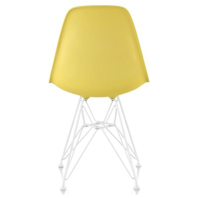 Ordinaire Herman Miller Eames Molded Plastic Side Chair   Wire Base | YLiving.com