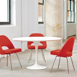 Knoll Saarinen Round Dining Table YLivingcom - Saarinen round dining table 60