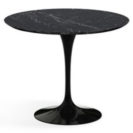 Knoll Saarinen Round Dining Table YLivingcom - Saarinen carrara marble table