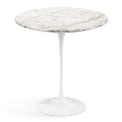 Shown With Saarinen Womb Settee / Saarinen Round Side Tables / Saarinen  35.75 Inch Round Coffee Table