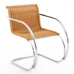 Strange Mr Rattan Chair With Arms By Knoll At Lumens Com Onthecornerstone Fun Painted Chair Ideas Images Onthecornerstoneorg