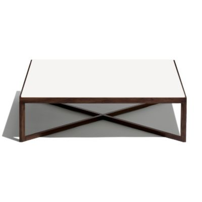 Knoll Krusin Square Coffee Table With Glass Or Laminate Table Top |  YLiving.com