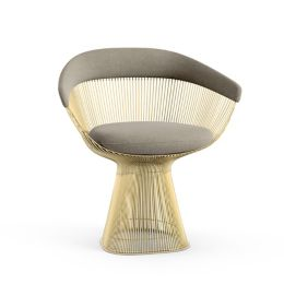 Pleasant Platner Arm Chair In Gold By Knoll At Lumens Com Gamerscity Chair Design For Home Gamerscityorg