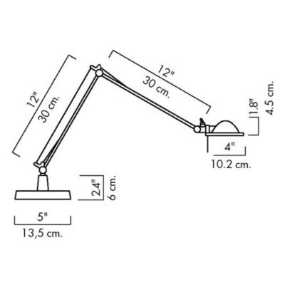 Luceplan Berenice Small Table Lamp Ylighting