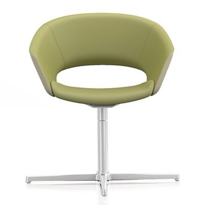 Leland International Mod Pedestal Swivel Chair | YLiving.com